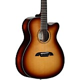 Alvarez Artist Series AF770CESHB OM Acoustic-Electric Guitar Shadow Burst