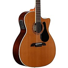 Alvarez Artist Series AG75CE Grand Auditorium Acoustic-Electric Guitar Level 2 Natural 190839274182