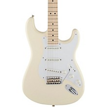 Artist Series Eric Clapton Stratocaster Electric Guitar Olympic White