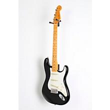 Artist Series Eric Johnson Stratocaster Electric Guitar Level 2 Black, Maple Fretboard 888366059333