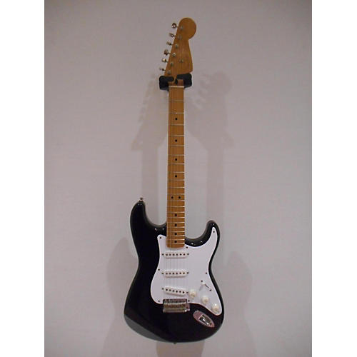 used fender artist series jimmie vaughan tex mex stratocaster electric guitar black guitar center. Black Bedroom Furniture Sets. Home Design Ideas