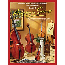 KJOS Artistry In Strings 2 Book/CD Violin Book
