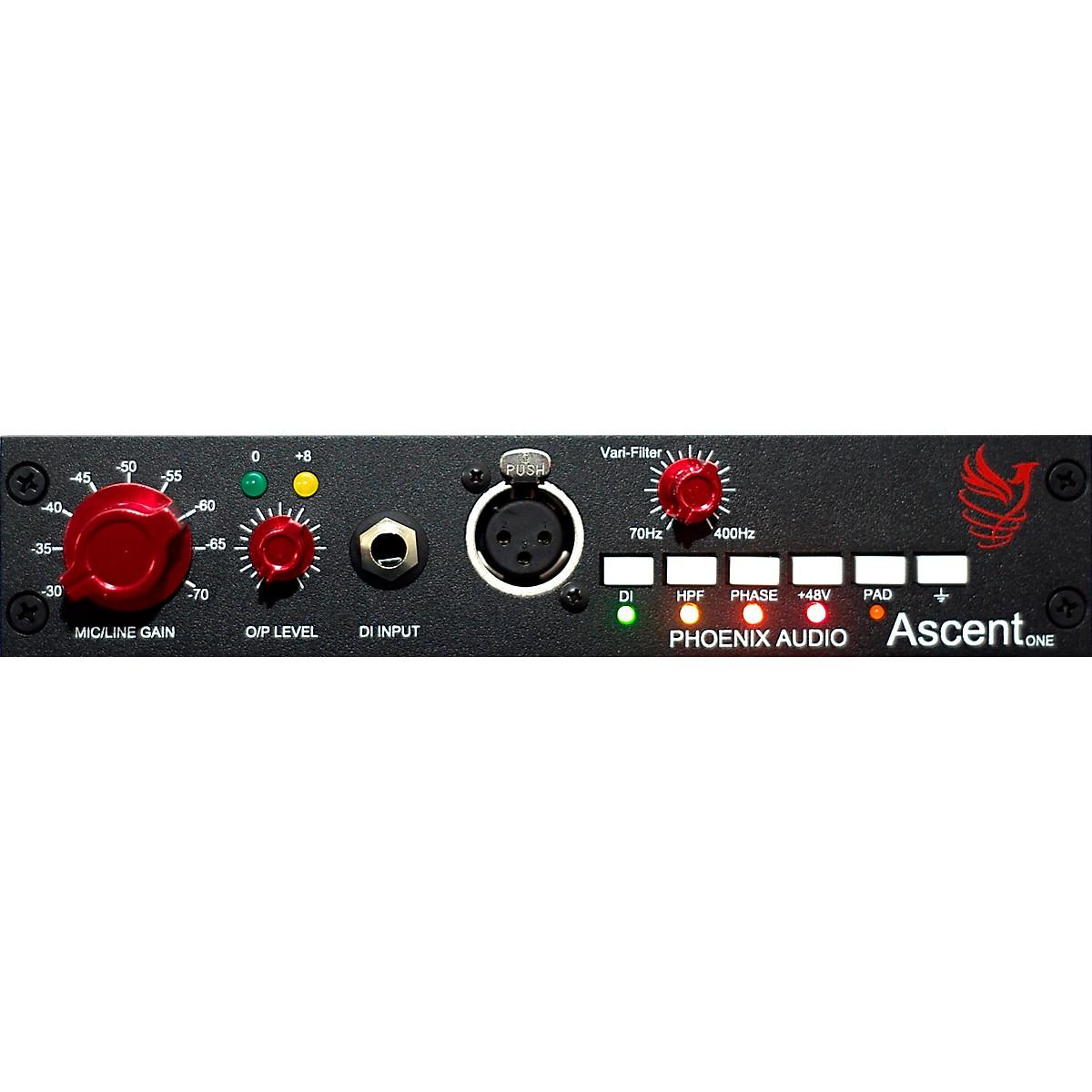 Phoenix Audio Ascent One Mono Class A Microphone Pre-Amplifier/DI