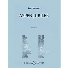 Boosey and Hawkes Aspen Jubilee (Score and Parts) Concert Band Composed by Ron Nelson