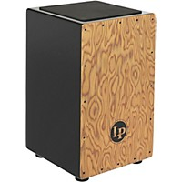 Deals on LP Aspire Exotic Makah Burl String Cajon