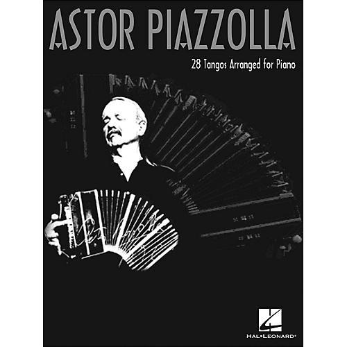 Hal Leonard Astor Piazzolla 28 Tangos Arranged for Piano