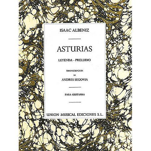 Union Musicale Asturias (Leyenda · Preludio) Music Sales America Series