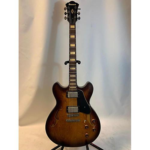 used ibanez asv10a hollow body electric guitar natural sunburst guitar center. Black Bedroom Furniture Sets. Home Design Ideas