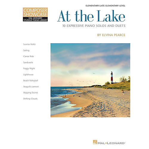 Hal Leonard At the Lake Piano Library Series Book by Elvina Pearce (Level Late Elem)