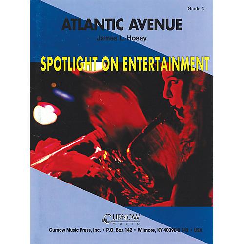 Hal Leonard Atlantic Avenue (Grade 3 - Score Only) Concert Band Level 3 Composed by James L. Hosay