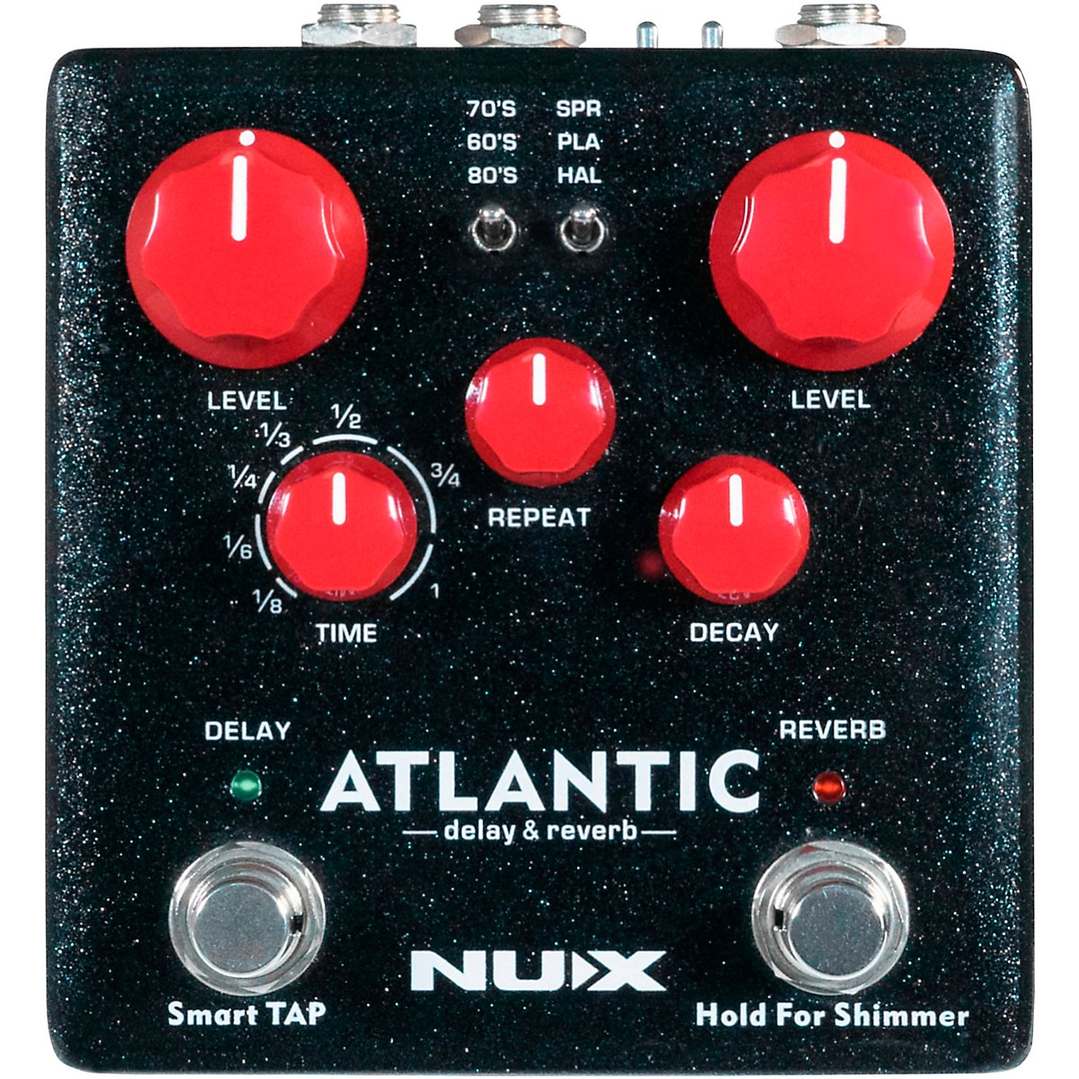 NUX Atlantic Delay & Reverb Effects Pedal