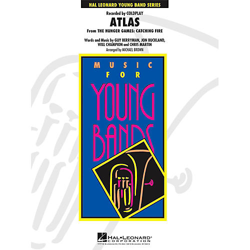 Hal Leonard Atlas (From The Hunger Games: Catching Fire) - Young Concert Band Level 3