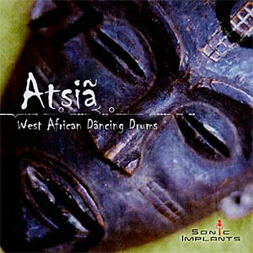 Sonic Implants Atsia - West African Dancing Drums for Gigasampler