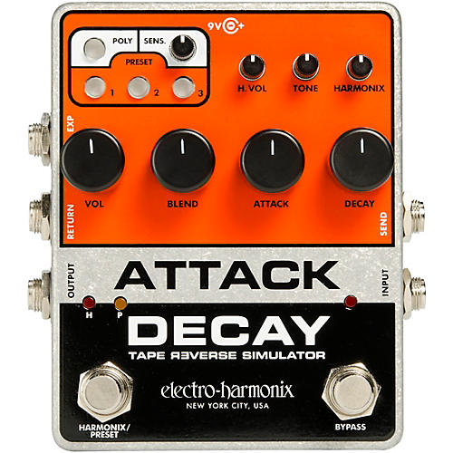 Electro-Harmonix Attack Decay Effects Pedal