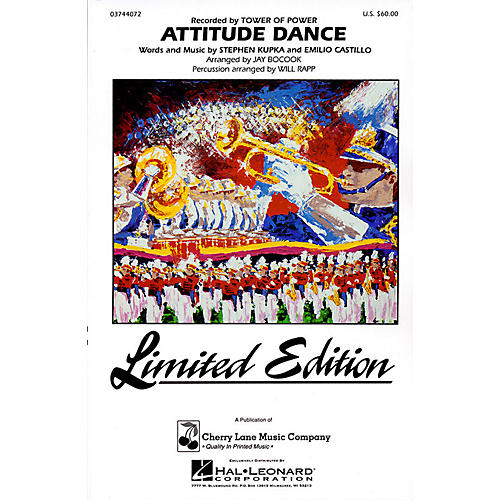 Cherry Lane Attitude Dance Marching Band Level 4 Arranged by Jay Bocook