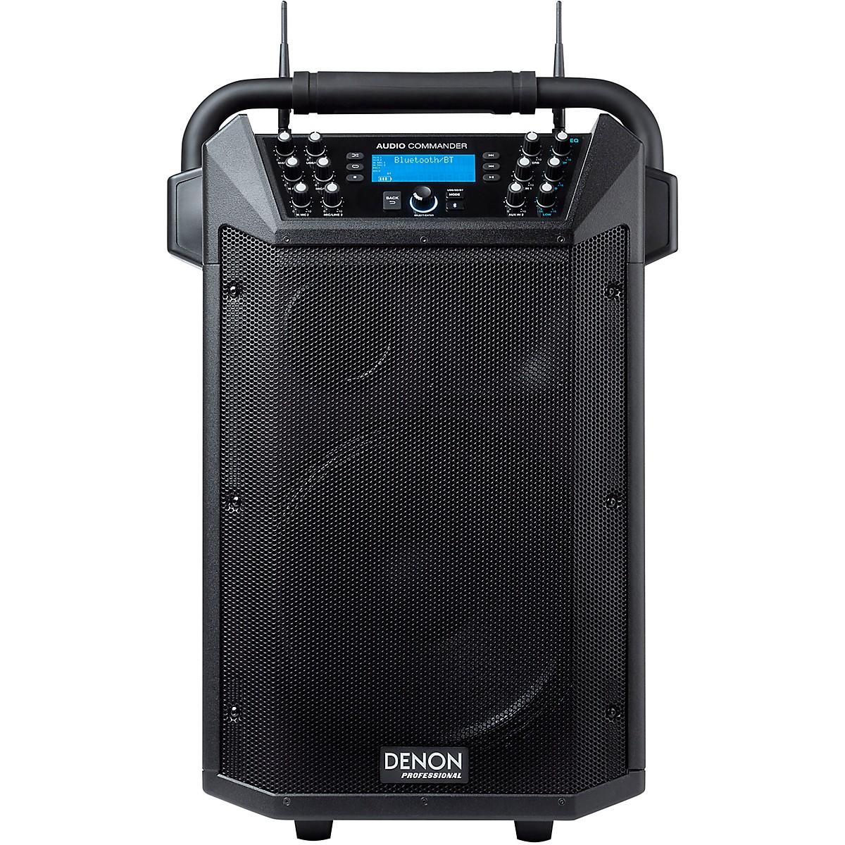Denon Professional Audio Commander 200W Wireless Mobile PA System