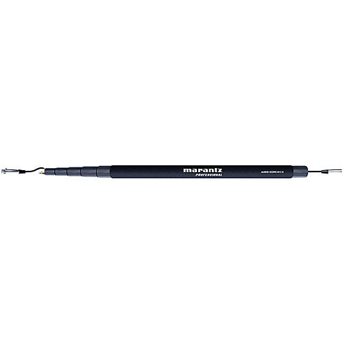 Marantz Professional Audio Scope B11-C, 5 Section 11-foot Boom Pole with XLR Cable