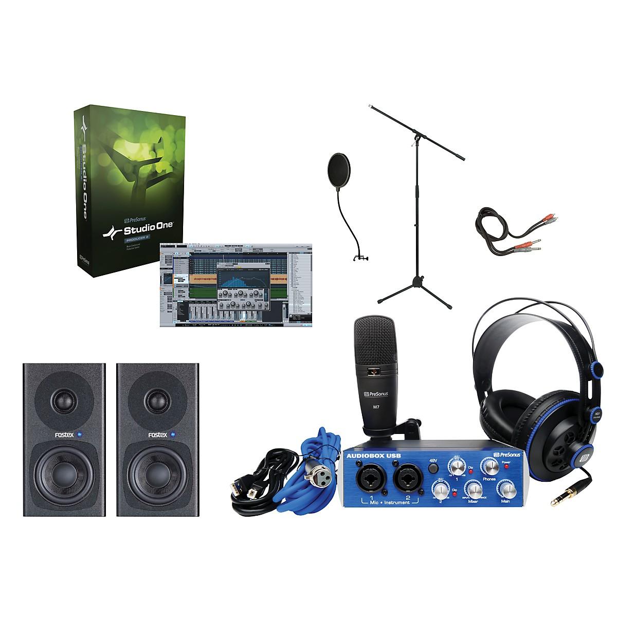 Presonus AudioBox Complete Desktop Recording Bundle