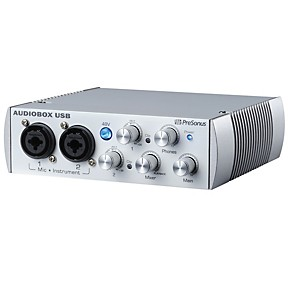 presonus audiobox usb 2x2 audio recording interface limited edition white guitar center. Black Bedroom Furniture Sets. Home Design Ideas
