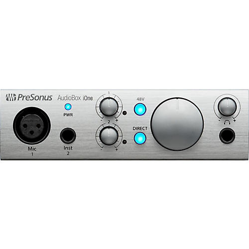 Presonus AudioBox iOne 2x2 USB & iPad Recording System