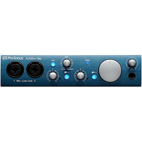 Presonus AudioBox iTwo 2x2 USB/iPad Recording System