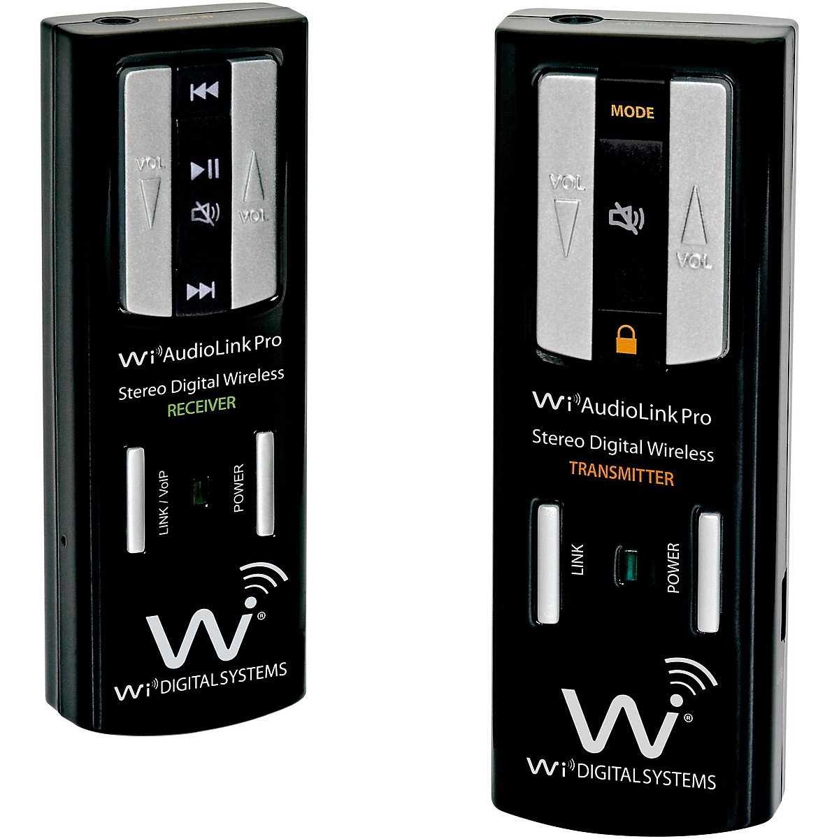 Wi Digital AudioLink Pro Portable Stereo Digital Wireless Instrument System with Wireless USB Audio Interface