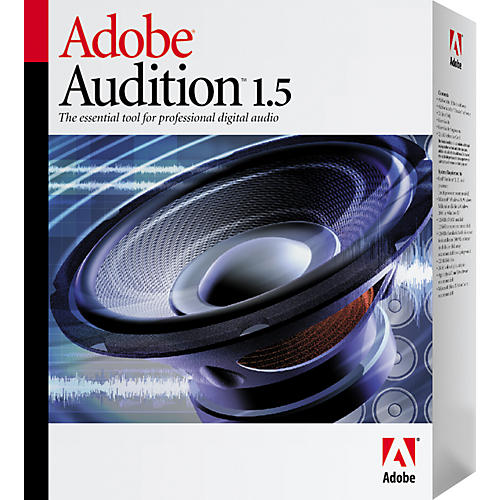 Adobe Audition 1.5 Upgrade from Audition 1.0 or Cool Edit Pro 2.0