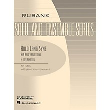 Rubank Publications Auld Lang Syne - Air and Variations Rubank Solo/Ensemble Sheet Series Softcover