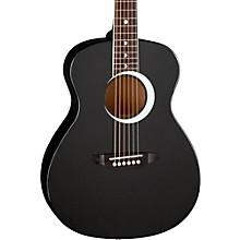 Aurora Borealis 3/4 Size Acoustic Guitar Black Sparkle
