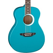 Aurora Borealis 3/4 Size Acoustic Guitar Level 2 Teal Sparkle 190839390721