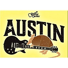 Guitar Center Austin Guitar Graphic Magnet