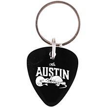 Guitar Center Austin Guitar Pick Keychain