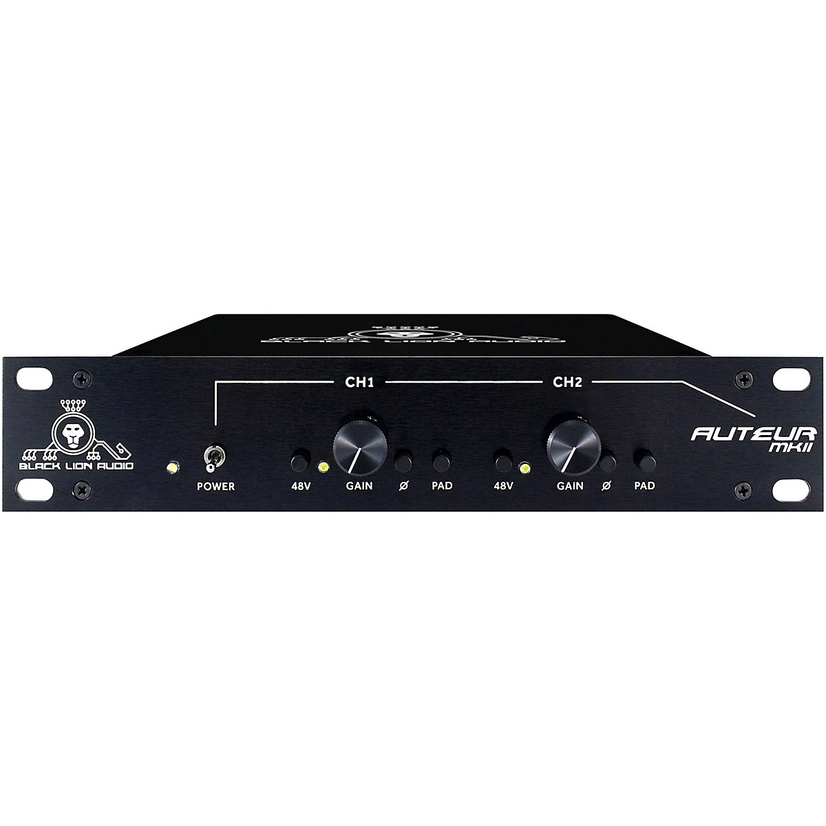 Black Lion Audio Auteur MKII Microphone Preamp