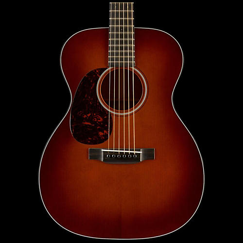 Martin Authentic Series 1933 OM-18 VTS Orchestra Model Left-Handed Acoustic Guitar