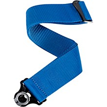 Auto Lock Guitar Strap - Poly Blue 2 in.