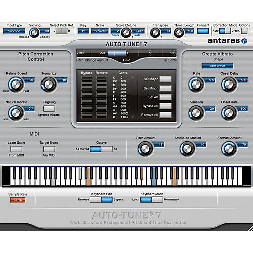 Antares Auto Tune 7 Vst Au Rtas Software Download