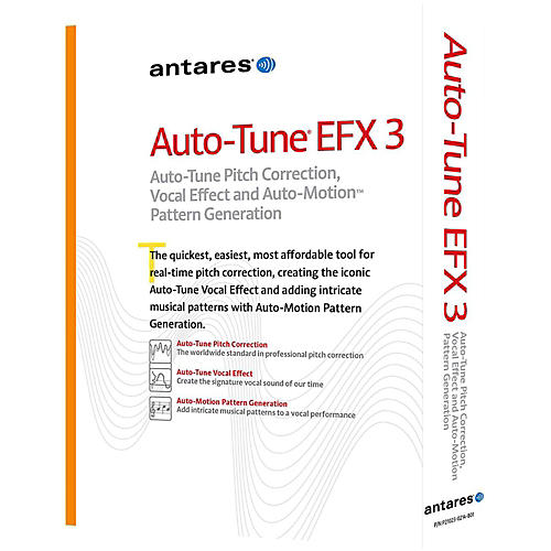 antares auto tune efx 3 aax native software download guitar center
