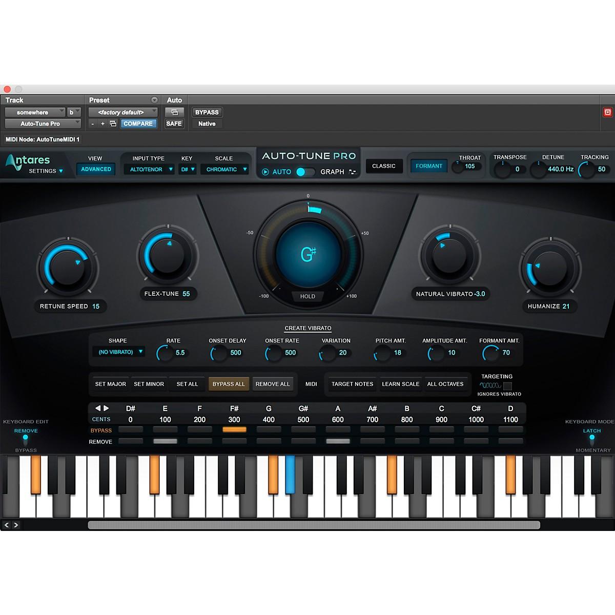 Antares Auto-Tune Pro and AVOX 4 Vocal Processing Bundle
