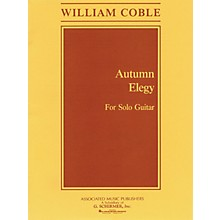 Associated Autumn Elegy (Guitar Solo) Guitar Solo Series Composed by William Coble
