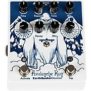Avalanche Run V2 Special Edition Attack of the Yeti Reverb/Delay Effects Pedal