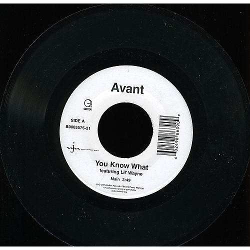 Alliance Avant - You Know What
