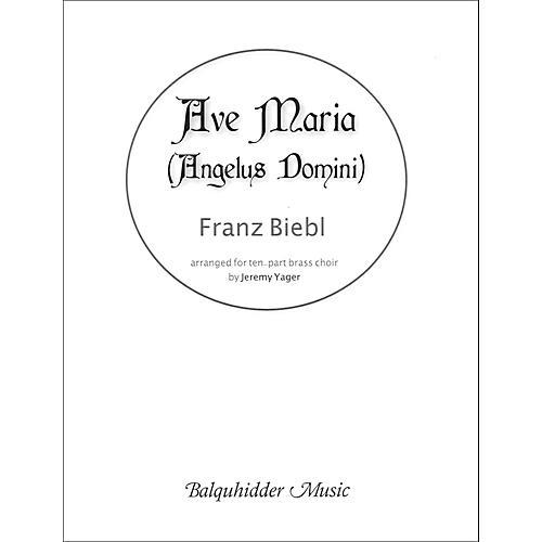 Carl Fischer Ave Maria (Angelus Domini) - for Brass Choir