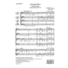 Editio Musica Budapest Ave Maria Stella SATB Composed by Lajos Bárdos