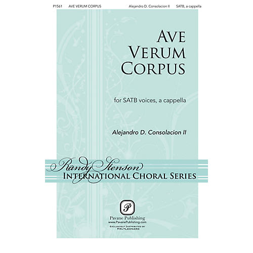 Pavane Ave Verum Corpus SATB a cappella composed by Alejandro Consolacion