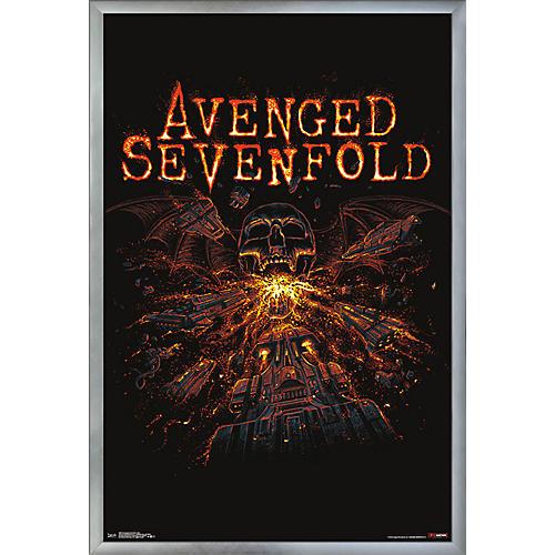 Trends International Avenged Sevenfold - Red Poster