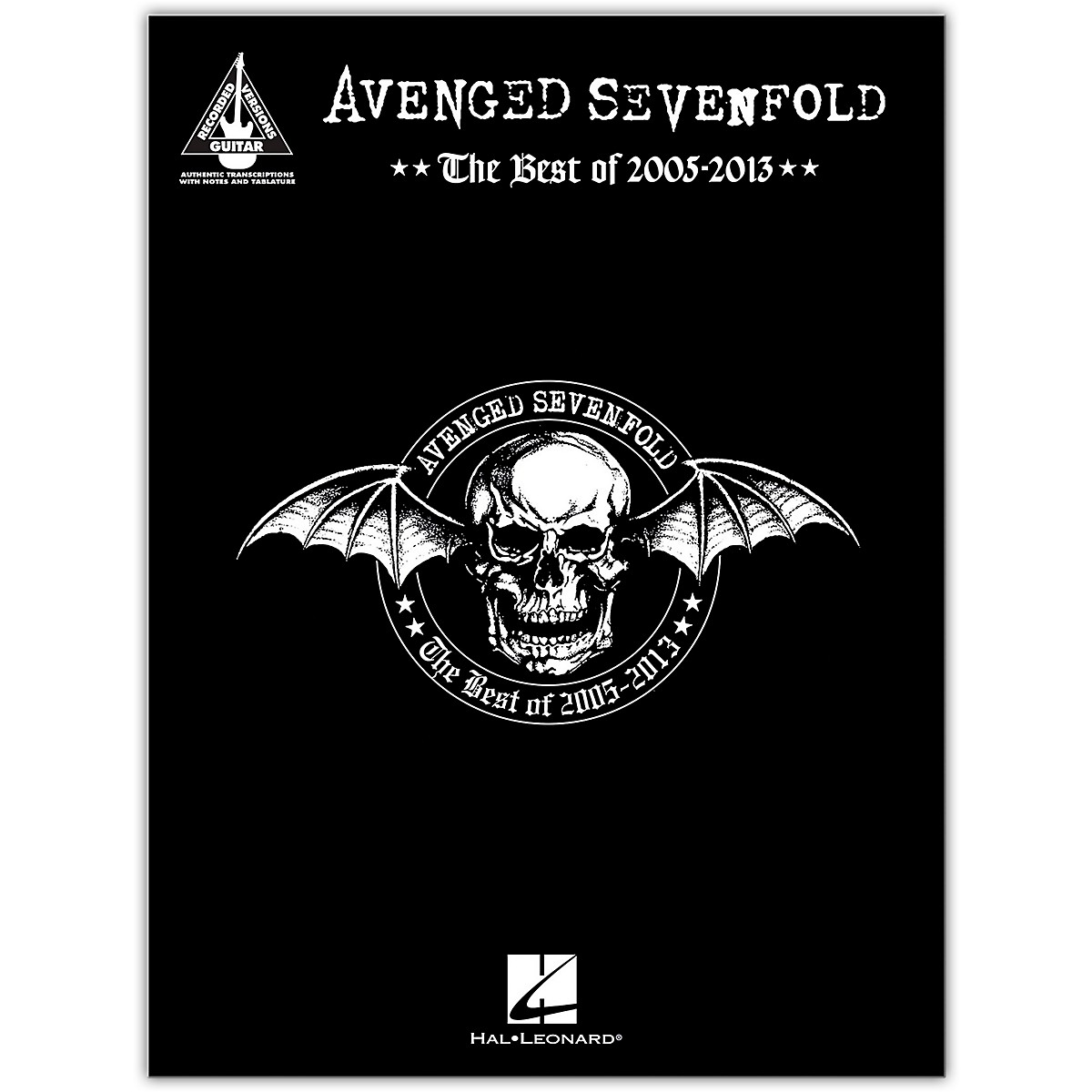 Hal Leonard Avenged Sevenfold - The Best of 2005-2013 Guitar Recorded Version Series Softcover by Avenged Sevenfold