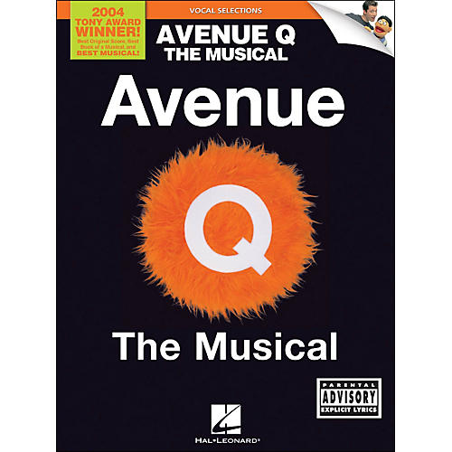 Hal Leonard Avenue Q - The Musical Vocal Selections arranged for piano, vocal, and guitar (P/V/G)