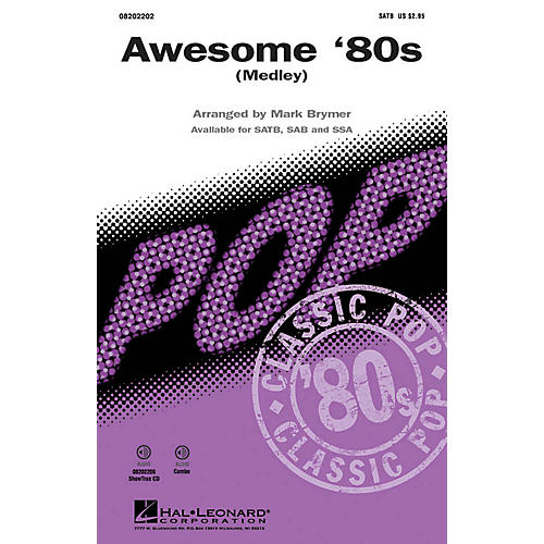 Hal Leonard Awesome '80s (Medley) ShowTrax CD Arranged by Mark Brymer