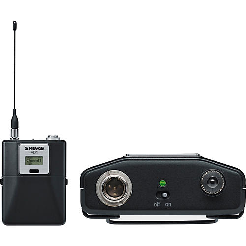 Shure Axient Digital AD1 Bodypack Transmitter with TA4 connector