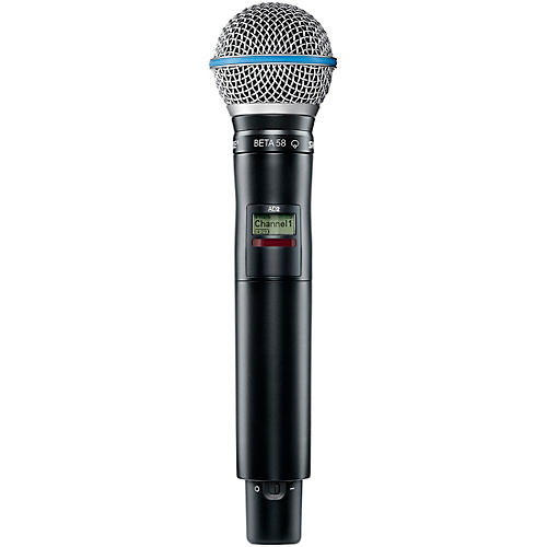 Shure Axient Digital AD2/B58 Handheld Wireless Transmitter with Beta 58 Microphone